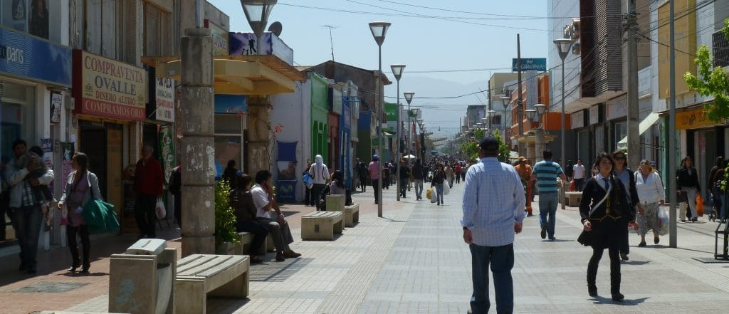Ciudad de Ovalle. Chile