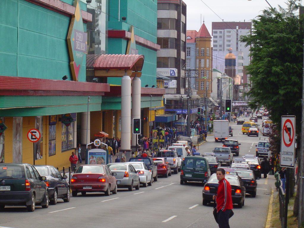 el centro de la ciudad de Puerto Montt