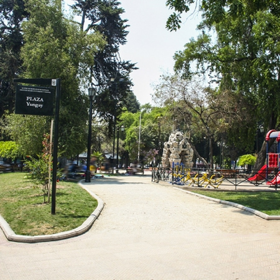plazas de Quinta Normal