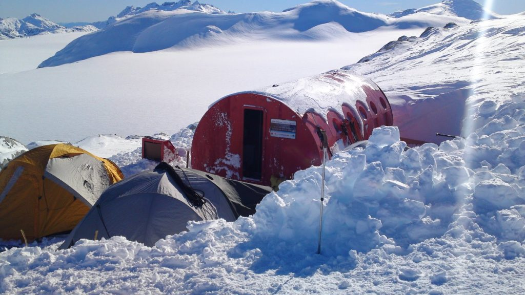 Campo de hielo sur